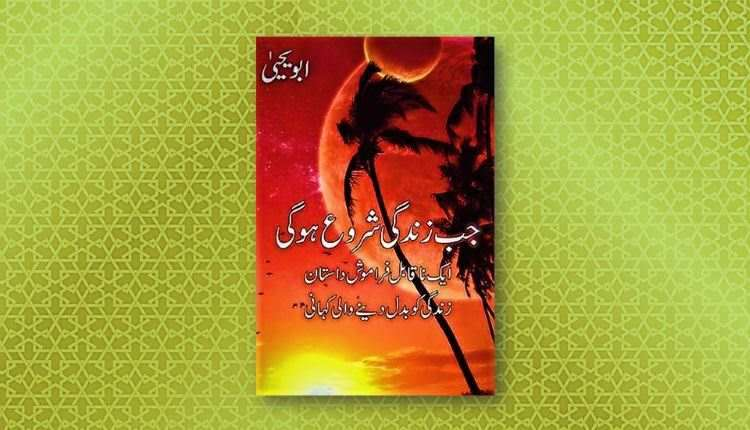 jab zindagi shuru hogi abu yahya inzaar urdu novel download free pdf hindi inzar jub